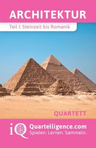 Quartett Architektur Deckblatt Pyramiden