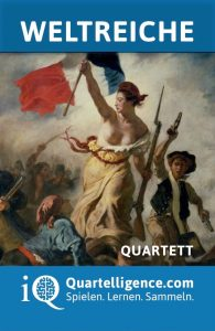 Quartett Weltreich Deckblatt Delacroix Freiheit führt das Volk